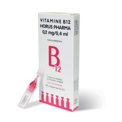 Vitamine B12 Horus Pharma 0,2mg/0,4ml
