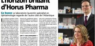 L'HORIZON BRILLANT D'HORUS PHARMA